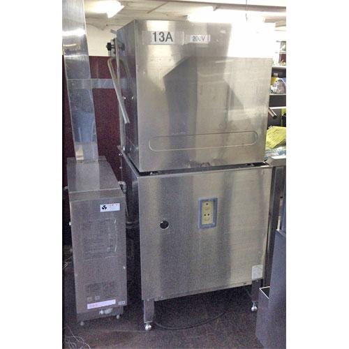 【中古】食器洗浄機 横河電子 E5-G 幅960×奥行760×高さ1730 三相200V 50Hz専用 【送料無料】【業務用】