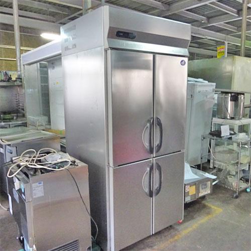 【中古】縦型冷凍庫 三洋電機 SRF-G983S 幅900×奥行800×高さ2000 三相200V 【送料別途見積】【業務用】