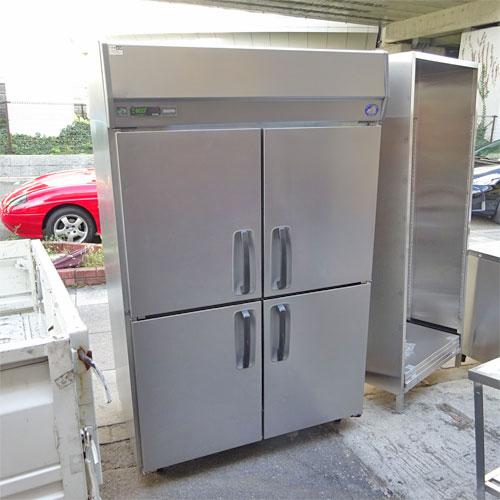 【中古】縦型冷凍庫 三洋電機 SRF-J1283VS 幅1200×奥行800×高さ1950 三相200V 【送料別途見積】【業務用】【厨房機器】