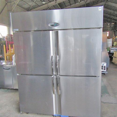 【中古】縦型冷蔵庫 フジマック FR1580J 幅1500×奥行800×高さ1900 【送料別途見積】【業務用】