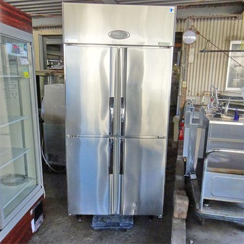 【中古】縦型冷蔵庫 フジマック FR9065JP 幅900×奥行650×高さ1900 【送料別途見積】【業務用】
