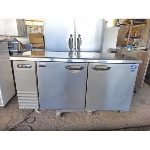 【中古】冷凍冷蔵コールドテーブル サンヨー SUR-G1561CA 幅1500×奥行600×高さ800 【送料別途見積】【業務用】