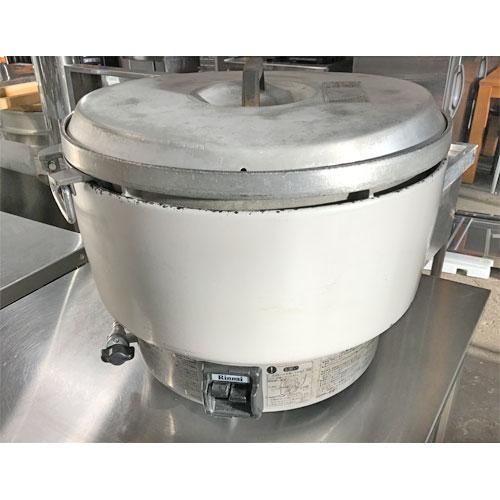【中古】ガス炊飯器 リンナイ RR-50S1 幅525×奥行481×高さ447 都市ガス 【送料無料】【業務用】【厨房機器】