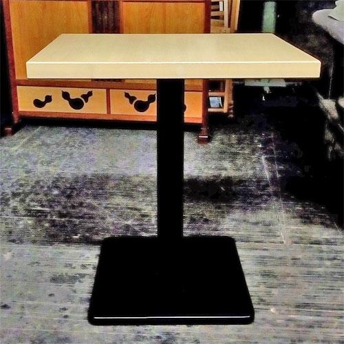 【中古】テーブル NA 角脚 幅500×奥行650×高さ710 【送料無料】【業務用】