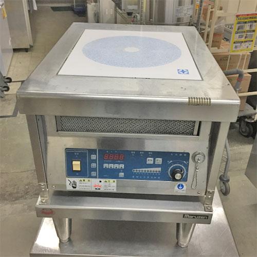 【中古】電磁調理器 ニチワ電機 MIR-5BLRC 幅450×奥行600×高さ500 三相200V 【送料別途見積】【業務用】
