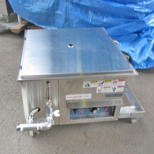 【中古】電気蒸し器 ニチワ電機 NESA-459-3 幅500×奥行540×高さ340 三相200V 【送料別途見積】【業務用】