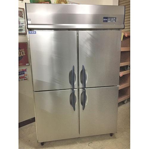【中古】4ドア冷凍冷蔵庫 大和冷機 411S1-EC 幅1200×奥行800×高さ1950 【送料無料】【業務用】