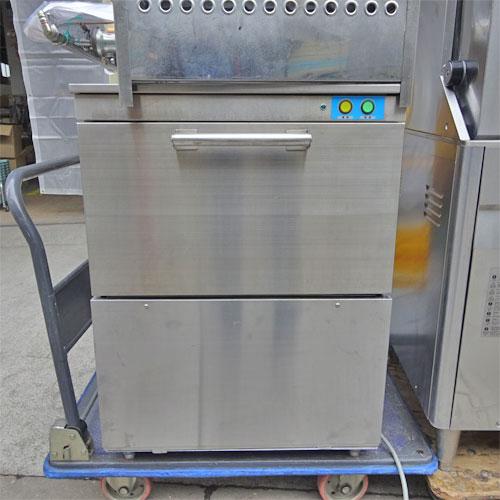 【中古】食器洗浄機 テンポスバスターズ TBDW-400U3 幅600×奥行610×高さ800 三相200V 【送料別途見積】【業務用】