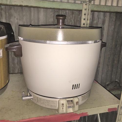 【中古】ガス炊飯器 リンナイ RR-20SF2 幅543×奥行506×高さ442 都市ガス 【送料別途見積】【業務用】