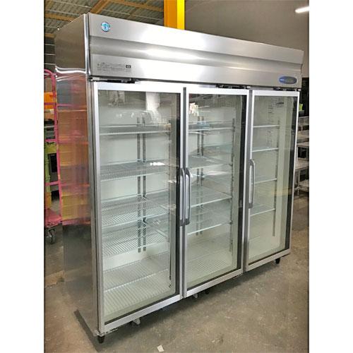 【中古】冷蔵リーチインショーケース ホシザキ RS-180XT3 幅1800×奥行650×高さ1900 三相200V 【送料無料】【業務用】【厨房機器】