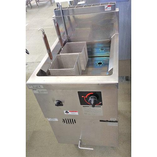 【中古】ガス冷凍麺釜 マルゼン MRF-46C 幅450×奥行600×高さ800 都市ガス 【送料無料】【業務用】