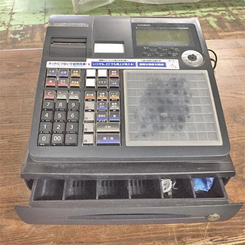 【中古】レジスター カシオ計算機 TK-2600 幅330×奥行360×高さ195 【送料無料】【業務用】