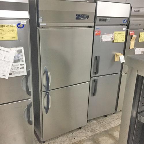【中古】縦型冷凍庫 大和冷機 203LSS-EC 幅750×奥行800×高さ1900 三相200V 【送料無料】【業務用】【厨房機器】