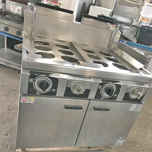 【中古】冷凍麺釜 タニコー THU-90AW 幅900×奥行750×高さ800 都市ガス 【送料無料】【業務用】