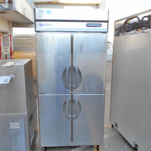 【中古】4ドア縦型冷蔵庫 福島工業(フクシマ) URD-30RM1 幅900×奥行800×高さ1950 【送料別途見積】【業務用】【厨房機器】