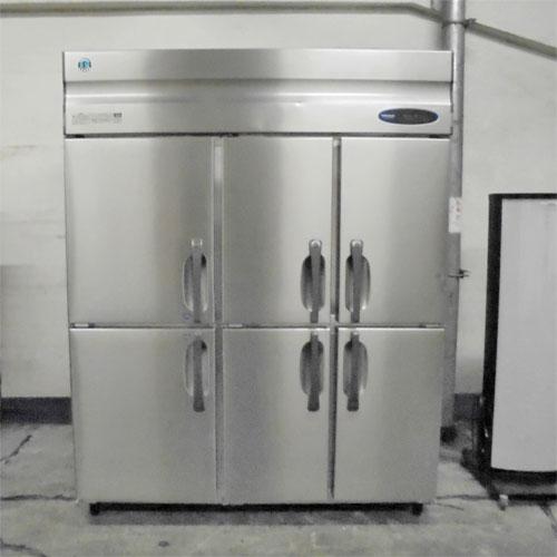 【中古】6ドア 冷凍冷蔵庫 ホシザキ HRF-150ZF3-6D-L2F 幅1505×奥行800×高さ1885 【送料別途見積】【業務用】