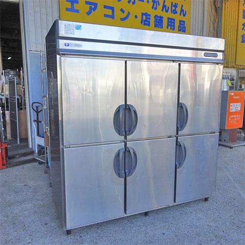 【中古】縦型冷凍冷蔵庫 フクシマガリレイ(福島工業) URD-62PMTA1 幅1800×奥行800×高さ1920 三相200V 【送料別途見積】【業務用】