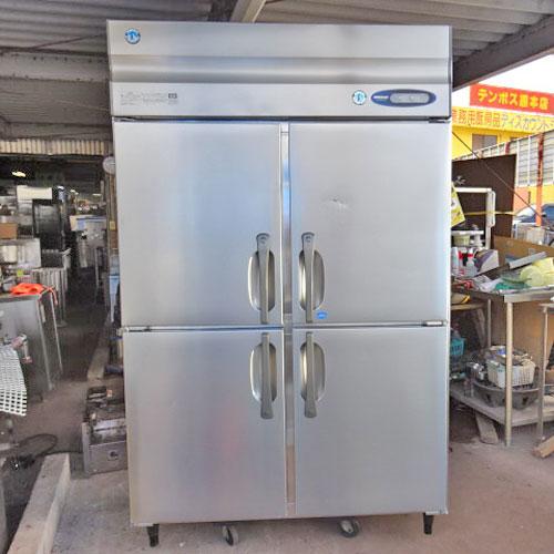 【中古】縦型冷凍冷蔵庫 ホシザキ HRF-120ZT 幅1200×奥行650×高さ1900 【送料別途見積】【業務用】【厨房機器】