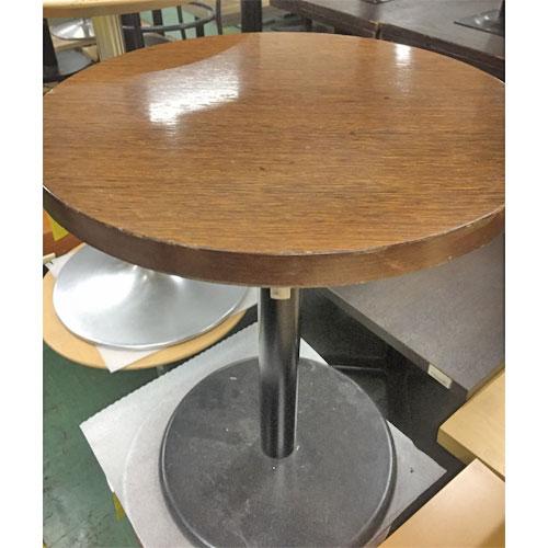 【中古】NA丸小テーブル 幅500×奥行500×高さ600 【送料無料】【業務用】