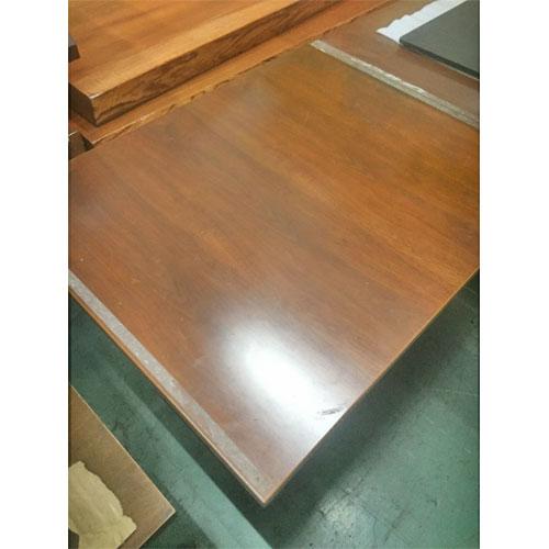 【中古】洋風テーブル 幅600×奥行750×高さ740 【送料無料】【業務用】