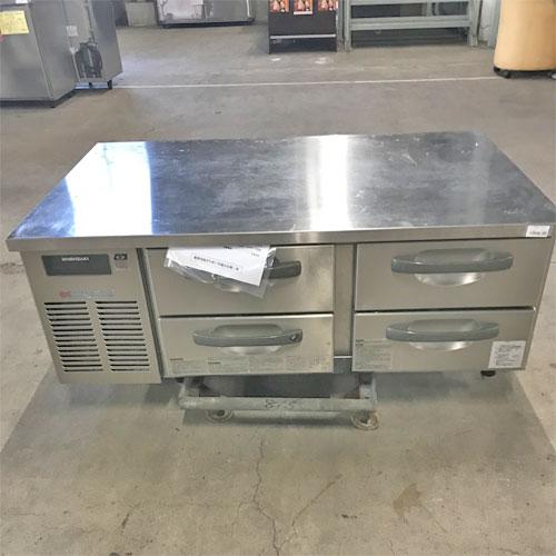 【中古】冷蔵ドロワーコールドテーブル ホシザキ RTL-120DDC 幅1200×奥行750×高さ500 【送料別途見積】【業務用】