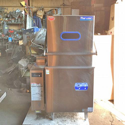 【中古】ドアタイプ食器洗浄機 ブースターあり マルゼン MDDGB6EL 幅850×奥行700×高さ1445 三相200V 都市ガス 【送料無料】【業務用】