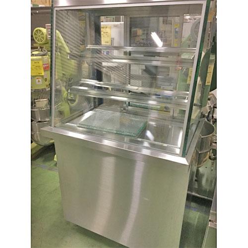 【中古】冷蔵ショーケース 大和冷機 CF-03SHOT-DB 幅900×奥行600×高さ1660 三相200V 50Hz専用 【送料無料】【業務用】