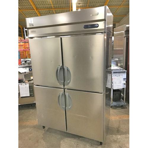 【中古】縦型冷凍冷蔵庫 福島工業(フクシマ) URN-121PMD6 幅1200×奥行650×高さ1890 三相200V 【送料無料】【業務用】