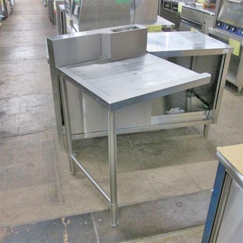 【中古】クリーンテーブル(脚2本) 幅600×奥行700×高さ820 【送料無料】【業務用】