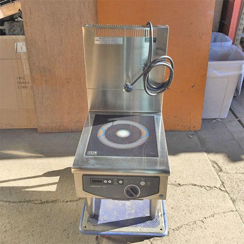 【中古】電磁調理器 IH ホシザキ HIH-5LB 幅450×奥行600×高さ450 三相200V 【送料別途見積】【業務用】