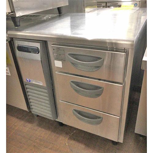 【中古】《大幅値下》冷凍ドロワーコールドテーブル フクシマガリレイ(福島工業) TDW-253 幅770×奥行750×高さ800 【送料無料】【業務用】