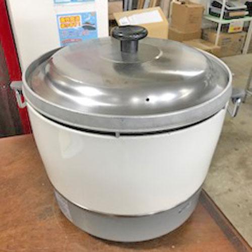 【中古】ガス炊飯器 リンナイ RR-30S1 幅450×奥行421×高さ407.5 都市ガス 【送料別途見積】【業務用】