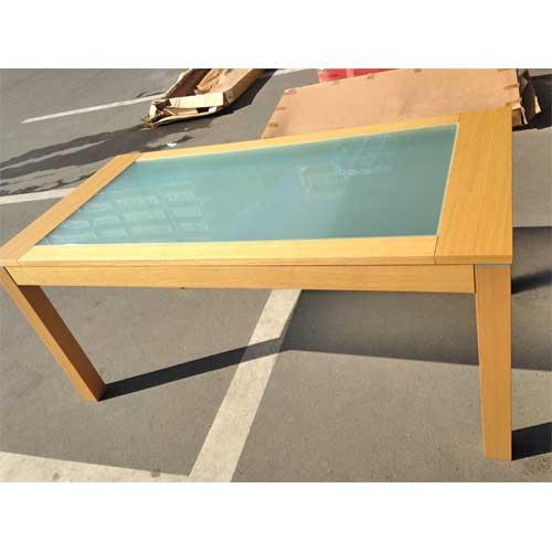 【中古】テーブル ポンド アダル 幅1600×奥行800×高さ720 【送料別途見積】【未使用品】【業務用】