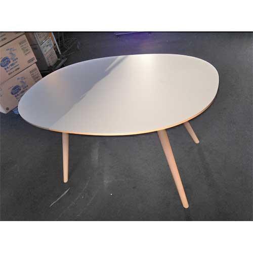 【中古】テーブル ポイント アダル 幅1260×奥行900×高さ720 【送料別途見積】【未使用品】【業務用】