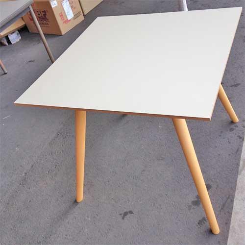 【中古】テーブル ポイント アダル 幅800×奥行800×高さ720 【送料別途見積】【未使用品】【業務用】