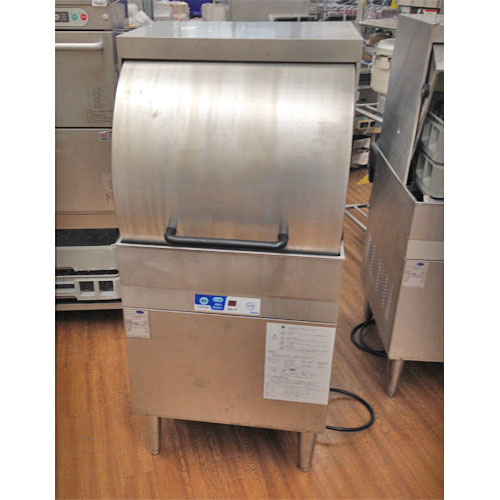 【中古】リターンタイプ食器洗浄機 大和冷機 DDW-HE6 幅600×奥行600×高さ1500 三相200V 50Hz専用 【送料別途見積】【業務用】