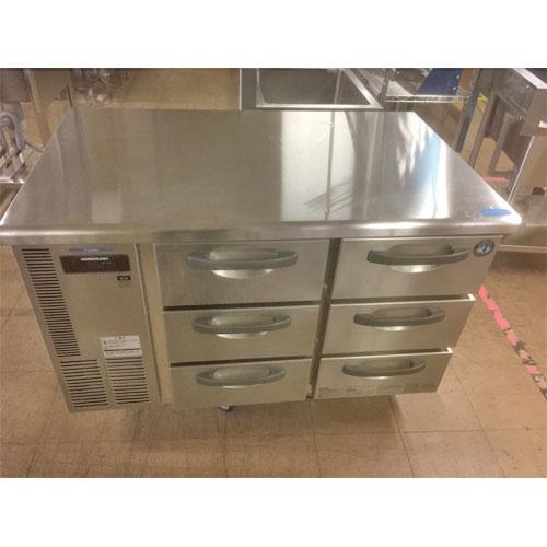 【中古】冷凍ドロワーコールドテーブル ホシザキ RT-120SDF-S 幅1200×奥行750×高さ800 【送料無料】【業務用】【厨房機器】