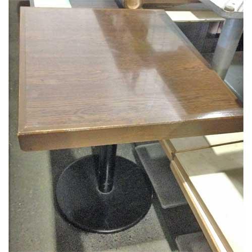 【中古】テーブル 幅750×奥行600×高さ750 【送料別途見積】【業務用】