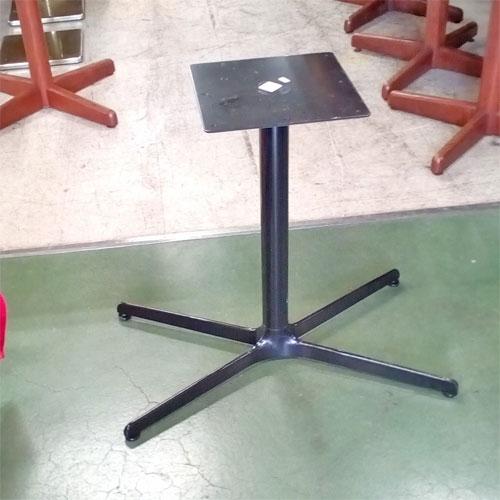 【中古】テーブル4人用脚 幅740×奥行430×高さ675 【送料無料】【業務用】