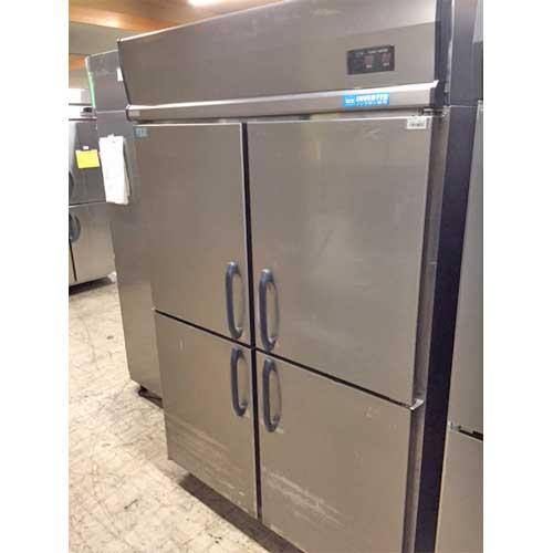 【中古】縦型冷凍冷蔵庫 1凍3蔵 ダイワ 401YS1-EC 幅1200×奥行650×高さ1900 【送料別途見積】【業務用】