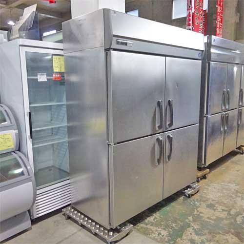 【中古】縦型冷蔵庫 パナソニック(Panasonic) SRR-J1561VSA 幅1460×奥行650×高さ1950 【送料別途見積】【業務用】【厨房機器】