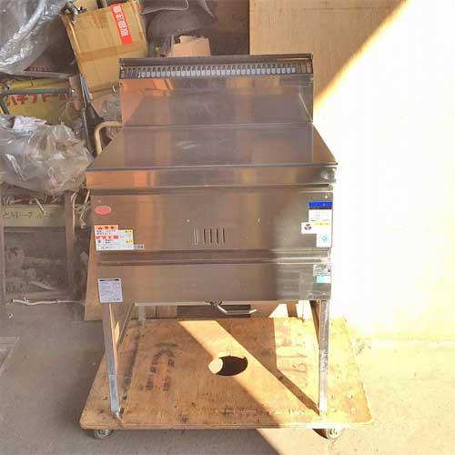 【中古】一槽ガスフライヤーBG マルゼン MGF-C30K 幅680×奥行600×高さ810 都市ガス 【送料無料】【業務用】【厨房機器】