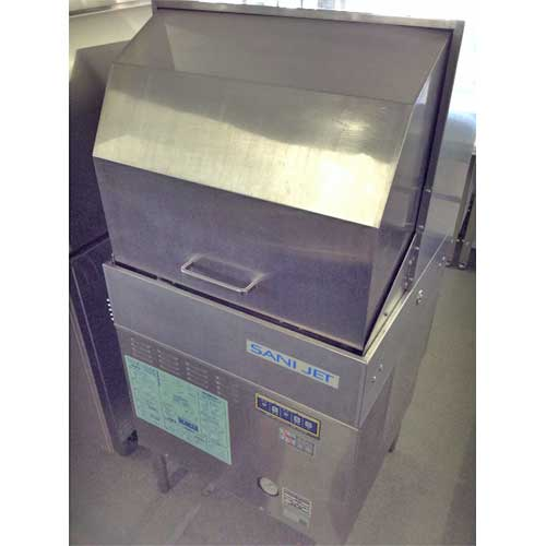 【中古】食器洗浄機 ドアタイプ 日本洗浄機 SD64E3-F 幅600×奥行600×高さ1280 三相200V 【送料無料】【業務用】