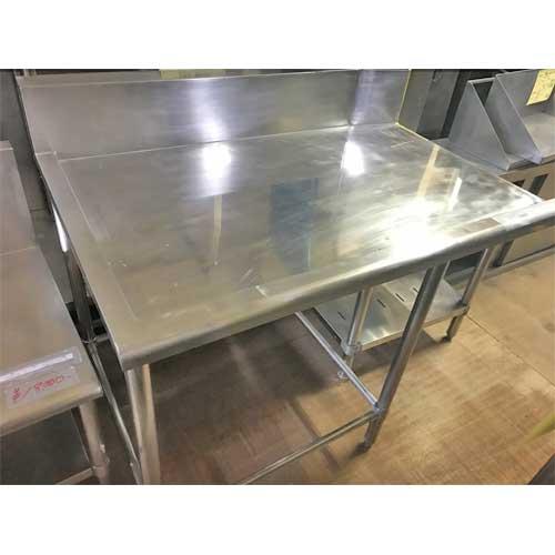 【中古】クリーンテーブル 幅1100×奥行750×高さ800 【送料別途見積】【業務用】
