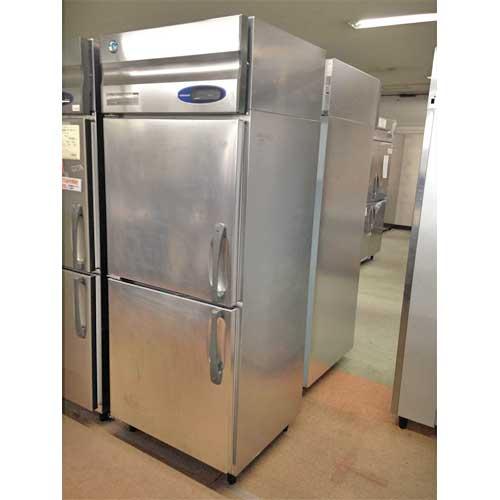 【中古】縦型冷蔵庫 ホシザキ HR-75LZT3-(L) 幅750×奥行650×高さ1890 三相200V 【送料別途見積】【業務用】【厨房機器】