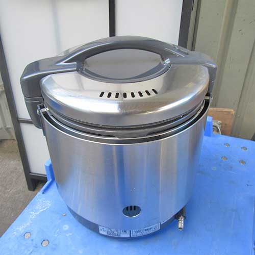【中古】ガス炊飯器 リンナイ RR-100GS 幅309×奥行283×高さ349 都市ガス 【送料無料】【業務用】【厨房機器】