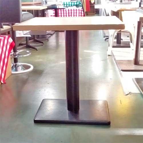 【中古】テーブル(伝票入れ付き) 幅600×奥行650×高さ710 【送料無料】【業務用】