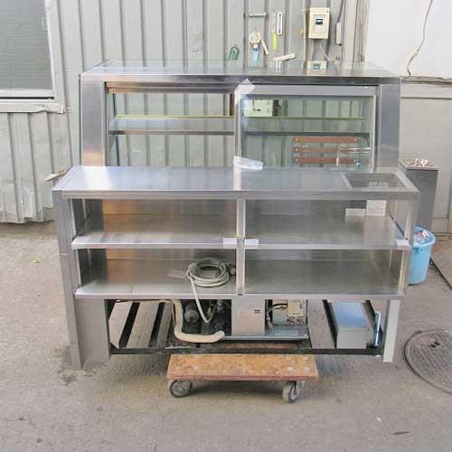 【中古】冷蔵ショーケース 大和冷機 CO-05SHOT-DB 幅1300×奥行880×高さ1200 50Hz専用 【送料別途見積】【業務用】【厨房機器】
