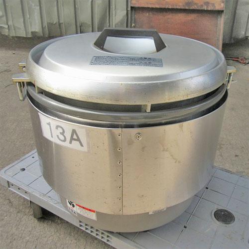 【中古】ガス炊飯器 リンナイ RR-30S2-B 幅466×奥行438×高さ442 都市ガス 【送料無料】【業務用】【厨房機器】