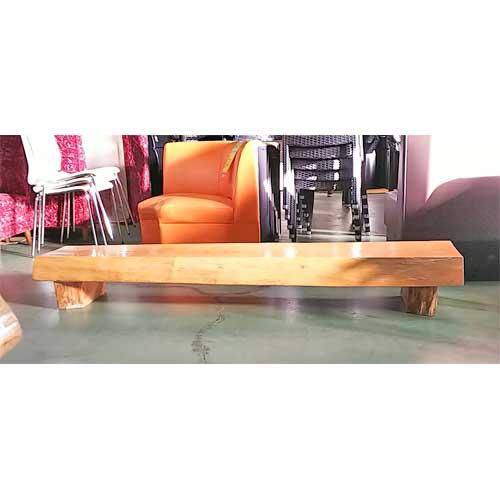 【中古】桂ケヤキベンチ 白木 幅1820×奥行420×高さ240 【送料別途見積】【業務用】